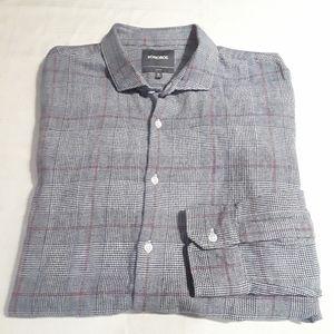 Bonobos Plaid Button Slim Fit Dress Shirt
